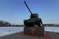 Памятник в честь советских воинов